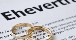 Hochzeitsguide Ehevertrag