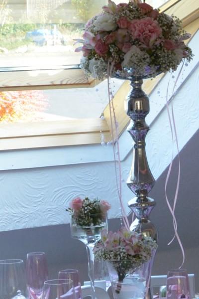Tishdekoration Pastellton_Blumenständer