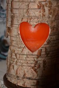 Kerzenhalter Herz